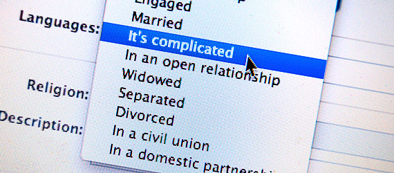 100 Possible Relationship Status Selection Options on Facebook!!