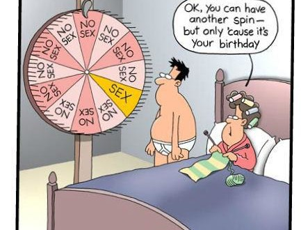 Funny Cartoon Pic – Only Cause It's Your Birthday