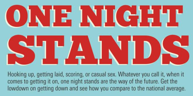 Infographic: One Night Stands
