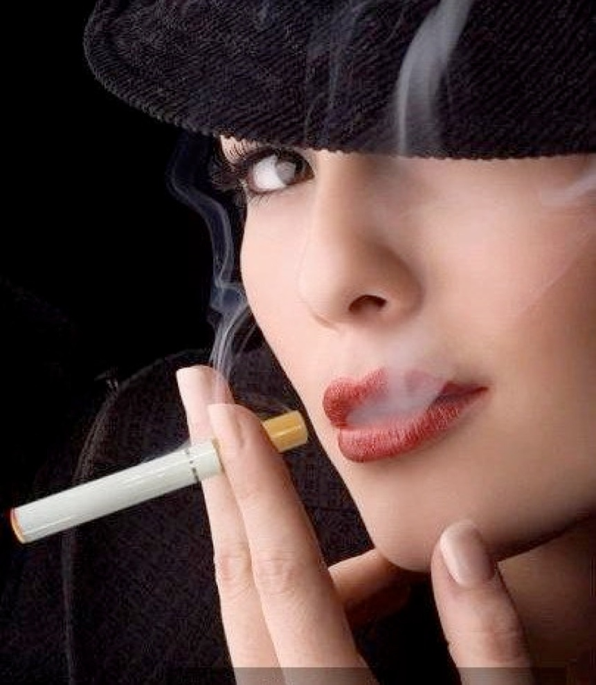 Seems remarkable Women smoke cigarettes sex casually